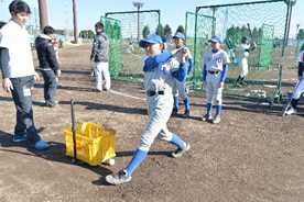 BCリーグ 栃木の選手が指導 野球教室に学童13チーム