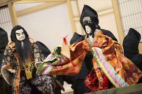 伝統芸能「淡路人形浄瑠璃」=兵庫県南あわじ市