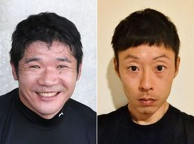 樋口政幸選手(左)と永田務選手