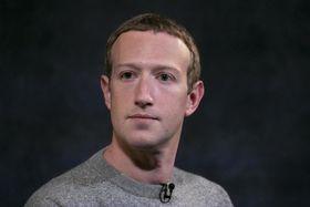 米フェイスブックのザッカーバーグCEO=2019年10月、ニューヨーク(AP=共同)