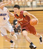 島根県高校バスケット 男子松江西 圧勝2連覇 女子松江商 最多V11