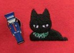 話題の「黒猫と警備員」グッズに