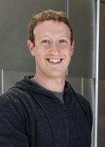 米フェイスブックのザッカーバーグCEO
