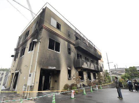 放火数日前、京アニ本社も下見か