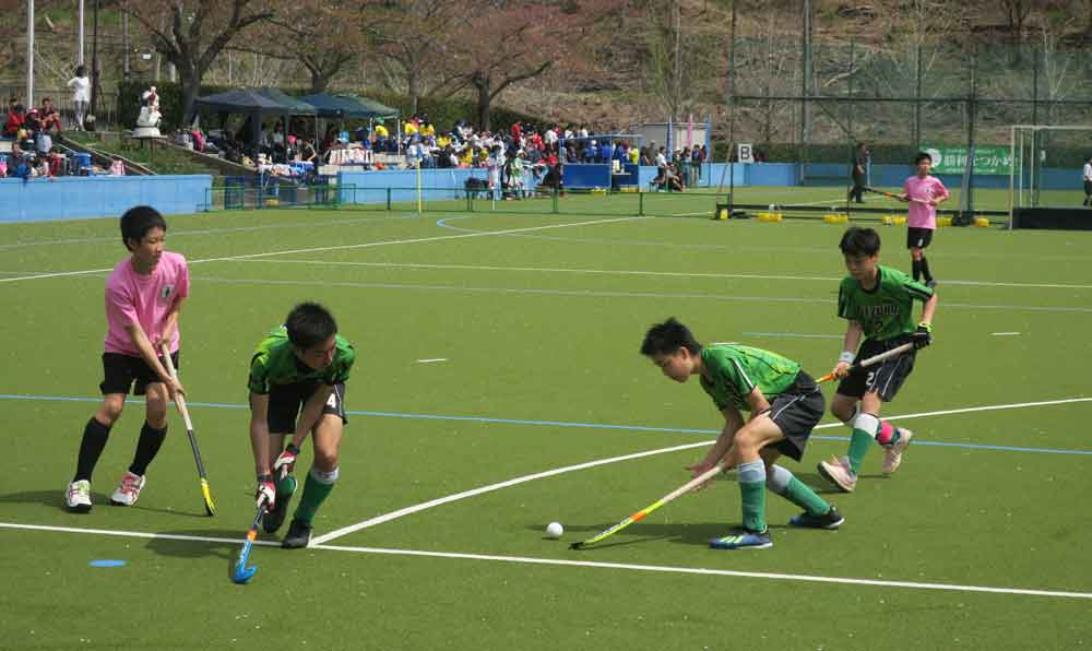 陸上ホッケー中学29チームが熱戦展開 京都・京丹波でフェス