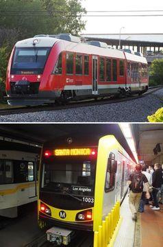 地下鉄に路面電車の車両!?