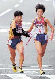 高校駅伝 仙台育英女子 歴代2位の好記録 選手層に厚み、独走でVつかむ
