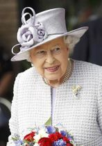 英国のエリザベス女王(ロイター=共同)