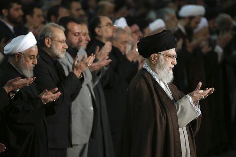 イラン指導者、米を非難