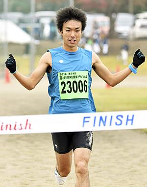 男子・吉田が初優勝「勝ちにこだわった」 喜多方健康マラソン
