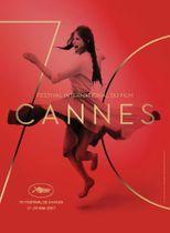 第70回カンヌ国際映画祭のポスター。基は1959年に撮影されたクラウディア・カルディナーレの写真。(C) Bronx (Paris). Photo: Claudia Cardinale (C) Archivio Cameraphoto Epoche/Getty Images
