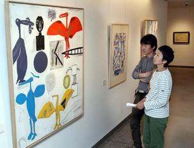 動物を描いた多彩な作品が並ぶ特別展「画家の愛した動物たち」