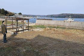 塩田の疑似体験コーナーが整備される敷地=穴水町中居