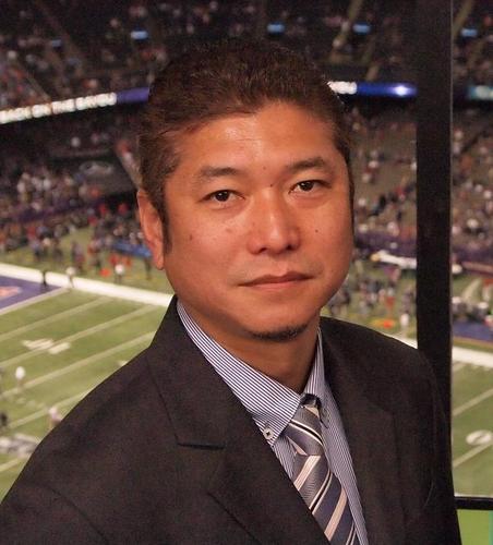 学生時代はRBとしてプレーした、NFL解説者として有名なジャパンタイムズの生沢浩さん