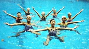 水泳 アーティスティックスイミング広島が全国で「3冠」 広島県勢初
