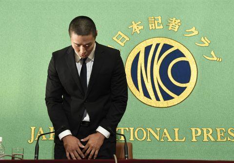 宮川選手、復帰の意向 部員に反則行為を謝罪、日大アメフット問題
