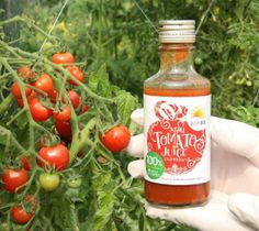 完熟ミニトマトを100%使ったジュース