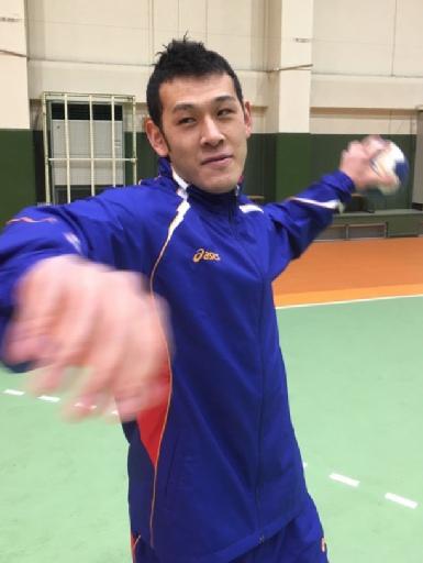 ハンドボール 代表入り 富岡市出身の小賀野 東京五輪狙う