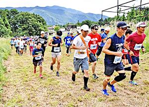『急坂』周回数競う!3時間耐久レース ゲレンデ逆走マラソン