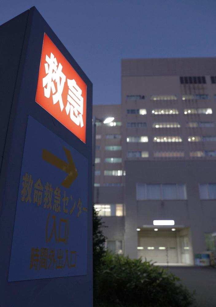 夜間も救急搬送が相次ぐ札幌市内の総合病院