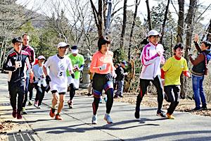 「福島絆マラソン」3月10日号砲 信夫山・山岳コース男女健脚