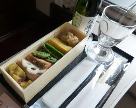 新幹線豪華客席のお弁当がリニューアル