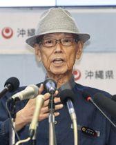 亡くなった沖縄県の翁長雄志知事