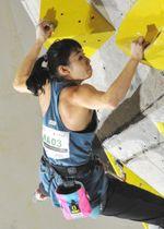 女子準決勝 僅差で9位に終わり決勝進出を逃した伊藤ふたば(TEAM au)=千葉県印西市・松山下公園総合体育館
