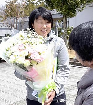 『私の原点』古里・棚倉に感謝 トライアスロン・菊池選手引退