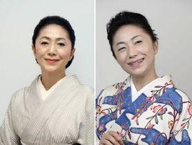 石川さゆりさん 左は2016年11月、右は2018年8月撮影