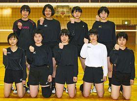 女子の部で3位だった熊野高校