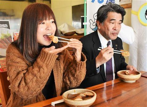 焼津おでん食べ比べ 市内12店舗で催し、港町の味PR