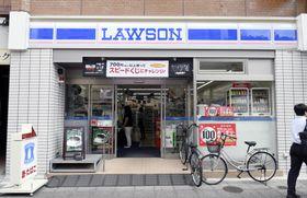ローソンの店舗=東京都内