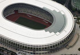 東京五輪・パラリンピックの開閉会式が行われる国立競技場