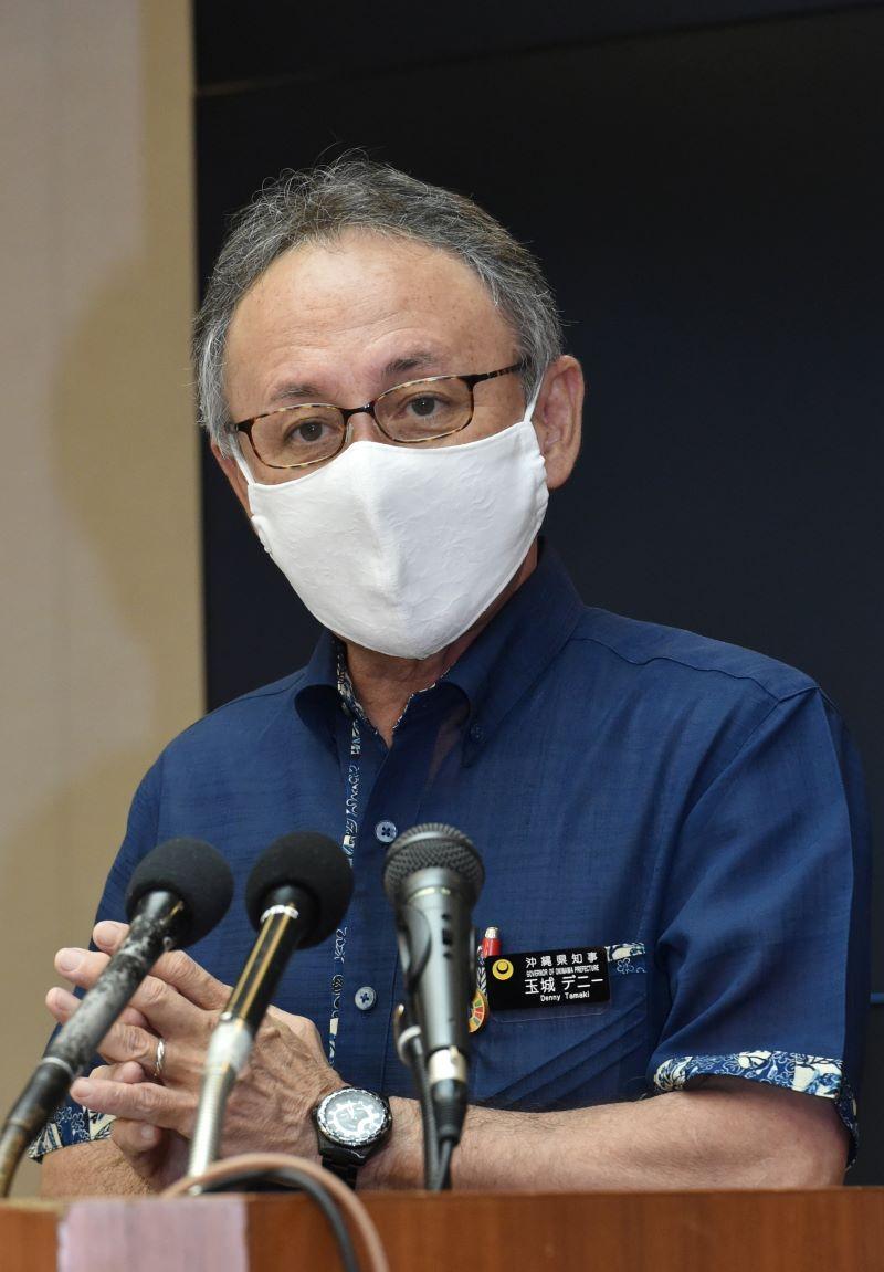 沖縄県、警戒レベル「第2段階」へ引き上げ 移動自粛は決めず