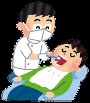 歯のお掃除(イラスト・いらすとや)