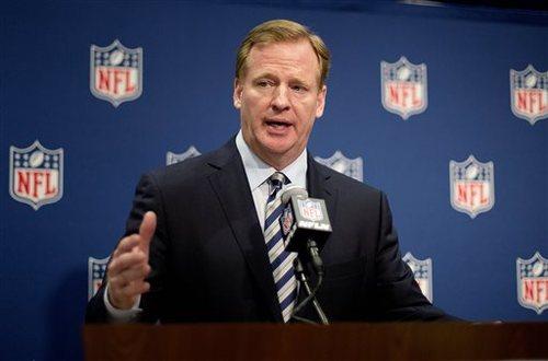 NFLのコミッショナーを務めるロジャー・グッデル氏=写真提供:NFLJAPAN