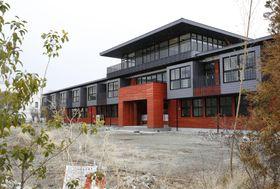学校法人「森友学園」が小学校建設を目指していた大阪府豊中市の国有地=3月