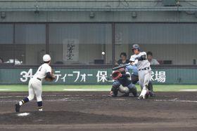 【横浜-光明相模原】5回表 横浜津田が満塁弾