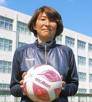 新監督として指揮を執る本田美登里さん=磐田市で