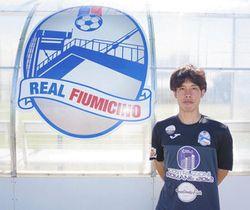 イタリアで念願のプロ選手となった小寺淳平さん=イタリアで(小寺さん提供