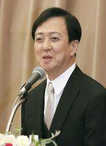 第31回高松宮殿下記念世界文化賞に選ばれ、記者会見する歌舞伎俳優の坂東玉三郎さん=17日、東京・内幸町