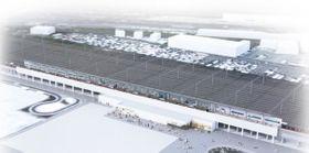 千葉市の幕張新都心に設置する、JR京葉線の新駅のイメージ(千葉県提供)