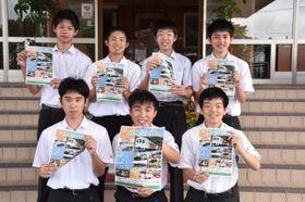 吉都線の観光列車運行に向けて奔走する飯野高の生徒たち。「えびの市を盛り上げたい」と力を込める