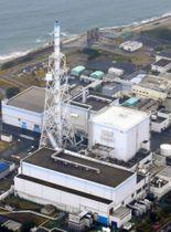日本原子力発電の東海第2原発=5月、茨城県東海村