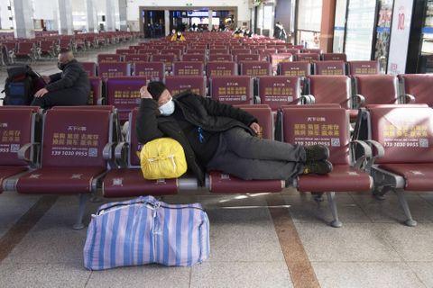 中国で春節の帰省始まる