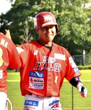 福島レッドホープス逆転勝ち 古長が真価発揮、BCリーグ