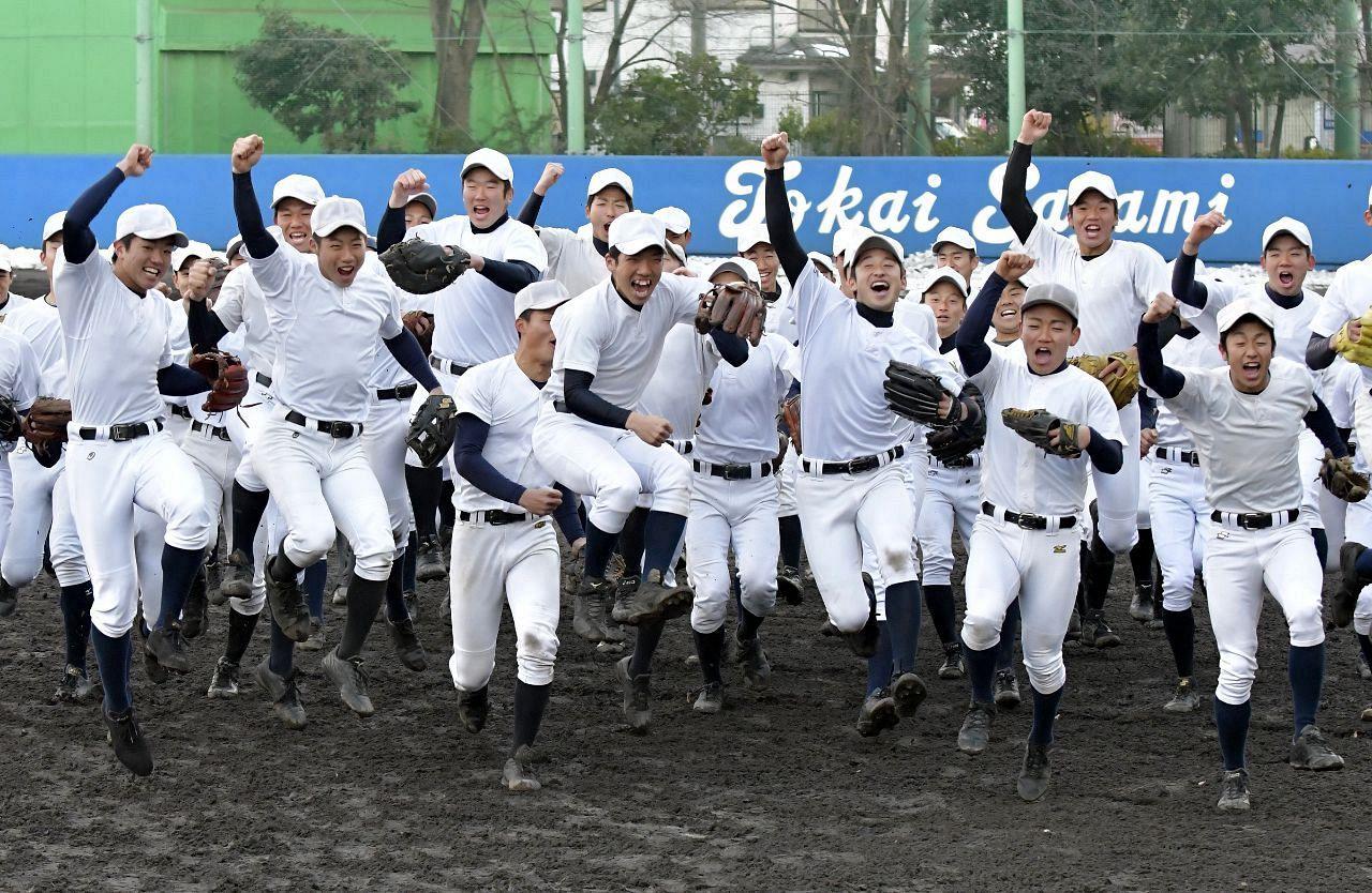 春のセンバツに東海と慶応 7年ぶりに神奈川県勢2校