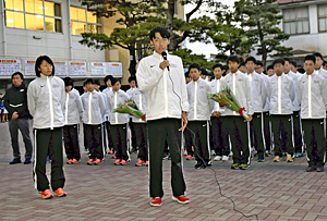 学法石川高陸上部が全国へ決意 福島県高校駅伝3年連続男女V