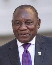 南アフリカのラマポーザ大統領(ロイター=共同)